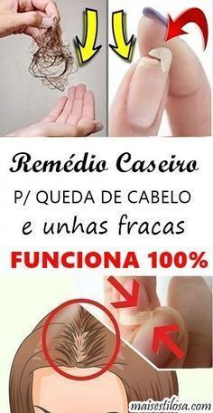 REMÉDIO CASEIRO PARA QUEDA DE CABELO E UNHAS FRACAS Home Remedies For Hair, Hair Loss Remedies, African Braids Hairstyles, Boy Hairstyles, Beauty Care, Hair Beauty, Beauty Habits, Body Hacks, Personal Trainer
