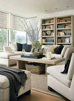33 Beige Living Room Ideas: 36 Light Cream And Beige Living Room Design Ideas Cream Living Rooms, Home Living Room, Living Room Furniture, Living Room Designs, Living Room Decor, Living Spaces, Cream Furniture, Beige And Grey Living Room, Dog Spaces