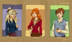 HP Characters_Serie 4 by mary-dreams on DeviantArt