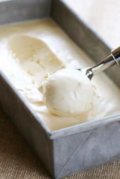 There's nothing better than fresh ice cream in the summer! Pear & Ginger Ice Cream