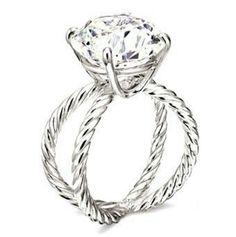 Actual perfection. David Yurman engagement ring