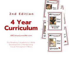 Wondering if the new 4 Year Curriculum is right for your family or classroom? Click to print Weeks 1 and 2 for FREE!  #kindergartenprep #ABCJesusLovesMe #4yearcurriculum