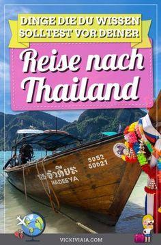 Planst du eine #Reise nach #Thailand? Hier findest du hilfreiche Thailand Reise Tipps und Infos für dein erstes mal in Thailand mit praktischen Tipps zu Land, Leuten und Kultur. #Asien #Vickiviaja