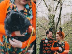 """""""Till Death Do Us Part"""" Abney Cemetery engagement shoot London wedding Photographer www.weheartpictures.com"""