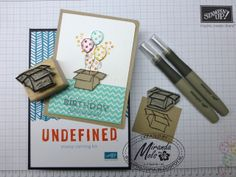 Box stamp carved by Miranda Mols  Get your Undefined Stamp Carving kit at www.carolpayne.stampinup.net