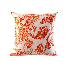 Jacobean Print Pillow 18x18, $29, now featured on Fab.