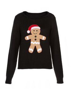 The gingerbread man jumper we love