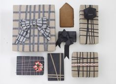 pretty gift wrapping idea.