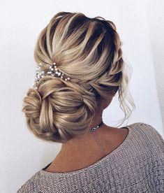 Dutch crown braid updo hairstyle ,updo #wedding #hairstyles #weddinghairstyles #updo