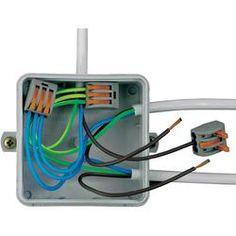 Verbindungsklemme - Serie 222 WAGO Querschnitt Feindrähtig 0.08 - 4 mm², eindrahtig - 2.5 mm² 32 A Grau, Orange 40 St.