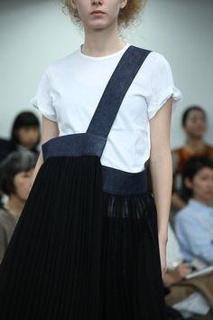 come des garçons #bag to match skirt
