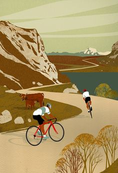 Retro illustrations of the bike rides you need to do before you die art Retro illustrations of the bike rides you need to do before you die Cycling Art, Cycling Quotes, Cycling Jerseys, Road Cycling, Bike Quotes, Cycling Motivation, Indoor Cycling, Cycling Tips, Cycling Workout