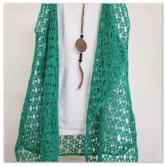 Fabulous Crochet a Little Black Crochet Dress Ideas. Georgeous Crochet a Little Black Crochet Dress Ideas. Crochet Vest Pattern, Crochet Cardigan, Crochet Shawl, Easy Crochet, Free Crochet, Knit Crochet, Crochet Patterns, Free Pattern, Crochet Vests