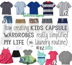 Switching to a capsule wardrobe for our kids reduced my stress level (and theirs!). Find out how I created a 25-item minimalist wardrobe they love!