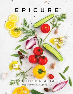 Fall & Winter Catalogue Candice Obrigewitch, your Indepedent Epicure Consultant Epicure Recipes, Healthy Diet Recipes, Healthy Snacks, Cooking Recipes, Healthy Eating, Food Graphic Design, Catalogue, Food Styling, Food Inspiration