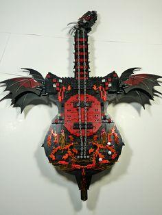Dragon Guitar by Stormbringer., via Flickr............. LOVE IT