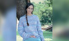 Slaan die koue hok met 'n snoesige trui Crochet Patterns, Pullover, Knitting, Sweaters, Jackets, Fashion, Down Jackets, Moda, Tricot