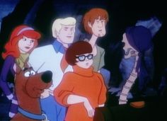 The Scooby-Doo Gang (minus Scooby!) are approximately 56-62. this tells you how old cartoon characters are