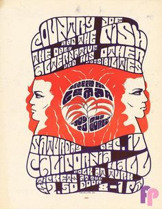 Country Joe and the Fish at California Hall 12/17/66 by Tom Weller