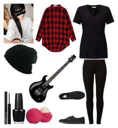 Genderbent Bradley Lloyd Iverson by katlanacross on Polyvore featuring polyvore, fashion, style, Miss Selfridge, WithChic, Dorothy Perkins, Vans, NYX, Eos, OPI, Floyd, clothing, genderbent, getscared and lloydiverson