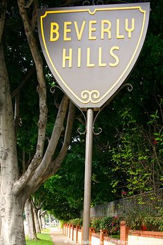 Gorgeous! Great trees! Beverly Hills Sign Photos