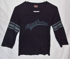 Harley Davidson Shirt Size Small Juniors Fort Worth Texas
