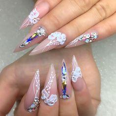 ⠀⠀⠀⠀ ⠀ ⠀ ⚜⚜ Nails that fit any occasion ⚜⚜⠀⠀⠀ ⠀⠀⠀ #nail #nails #nailart #nailwow #nail swag #instanails#ignails#nailstagram #handpainted#nailsofinstagram #nails2inspire #nailsoftheday #notd#nailaddict #nailartclub #nailpromote #naildesigns #nailartist #pointynails #nailprodigy #gelnails #sydneyartis #nailpro