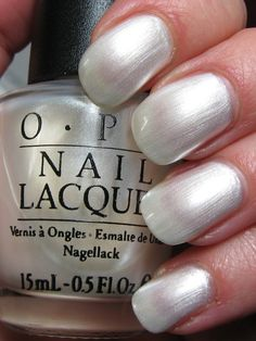 OPI Van-couvered in Snow (discontinued)