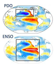 How El Nino, La Nina, and the Pacific Decadal Oscillation influence snowfall in…