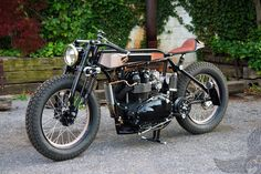 2008 triumph bonneville board tracker - tt deluxe | lc fabrications