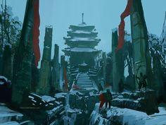 ArtStation - temple quest, ioan dumitrescu