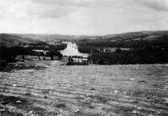 O río Miño en Pape, Outeiro de Rei. Arquivo Ebeling nº 24.