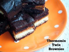 Thermomix Twix Brownies