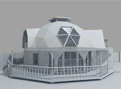 Динамика - купольные дома на заказ - Комсомольский