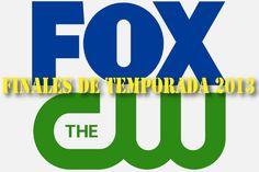 Fechas de los finales de temporada 2013: The CW y FOX     http://blogueabanana.com/ar-t/149-tv/966-fechas-de-los-finales-2013-the-cw-y-fox.html