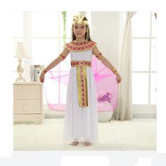 Like and Share if you want this  Egypt Princess Dress Party Clothes     Tag a friend who would love this!     FREE Shipping Worldwide | Brunei's largest e-commerce site.    Get it here ---> https://mybruneistore.com/kids-girl-children-cosplay-halloween-party-egypt-princess-dress-cute-queen-cosplay-carnival-party-clothes/