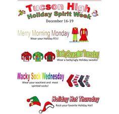 Themes - Student Council Advice Spirit Week Themes, Spirit Weeks, School Week, School Fun, Office Christmas, Christmas Time, Holiday, Student Council Activities, Spirit Game