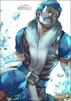 Ice wizard-clash royale