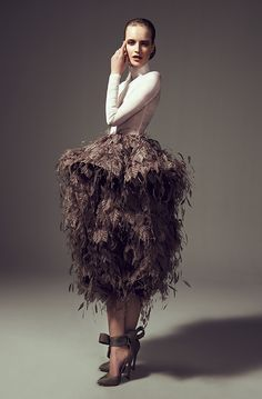 (and leaves) Ashi Studio - Couture