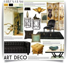 """Glitz & Glam: Art Deco Polyvore Contest"" by hmb213 on Polyvore"