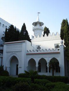 Дача (дворец) Кичкине — здание на территории Мисхора, Крым.