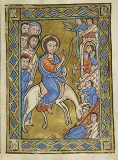 Vita Christi (Life of Christ), MS M.44 fol. 6r - Images from Medieval and Renaissance Manuscripts - The Morgan Library & Museum