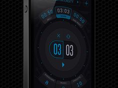 Interval Timer for Workout    #apps #iphone #ios #ui #gui