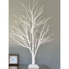 Paper Tree Ornament in White - Casafina