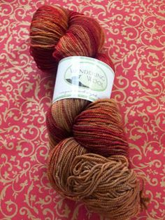 Phat Fiber Sample Box: Wandering Wool Mulled Cider Sock Yarn giveaway!