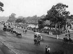 1916 Bs. As., Palermo, Paseo de 'El Rosedal'