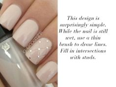 Get inspired with beautiful manicure ideas for brides.