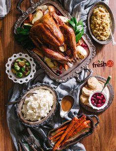 Thanksgiving Dinner ala The Fresh 20