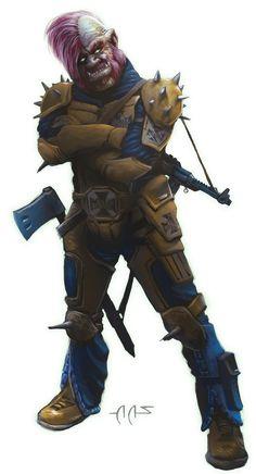 Shadowrun Stadtkrieg Urban Combat Player by raben-aas on DeviantArt
