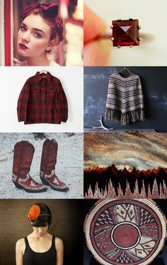 Tribal Mix for Christmas by ILONA on Etsy--Pinned with TreasuryPin.com
